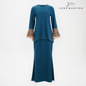 Baju Kurung Modern Sempit 3014 Emerald Green