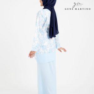 Baju Kurung Modern Sempit 523 Baby Blue