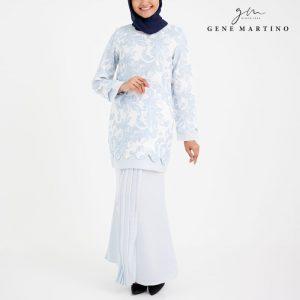 Baju Kurung Modern Sempit 523 Ice Grey