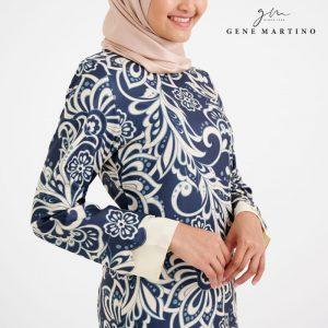 Baju Kurung Modern Sempit 523 Pastel Cream