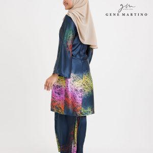 Baju Kurung Pahang 103 Dark Grey