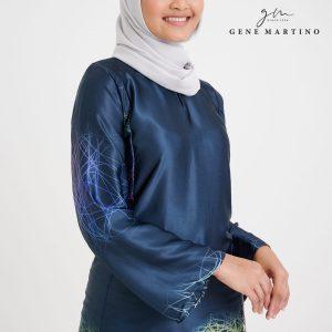Baju Kurung Pahang 103 Navy