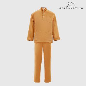 Baju Melayu Premium Dull Satin Classic Fit Fire