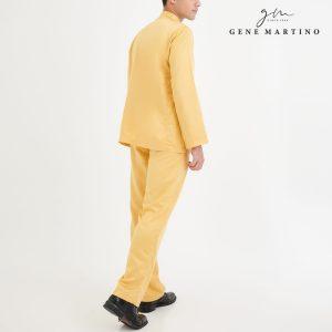 Baju Melayu Premium Dull Satin Classic Fit White