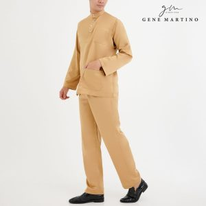 Baju Melayu Premium Dull Satin Classic Fit Sunray