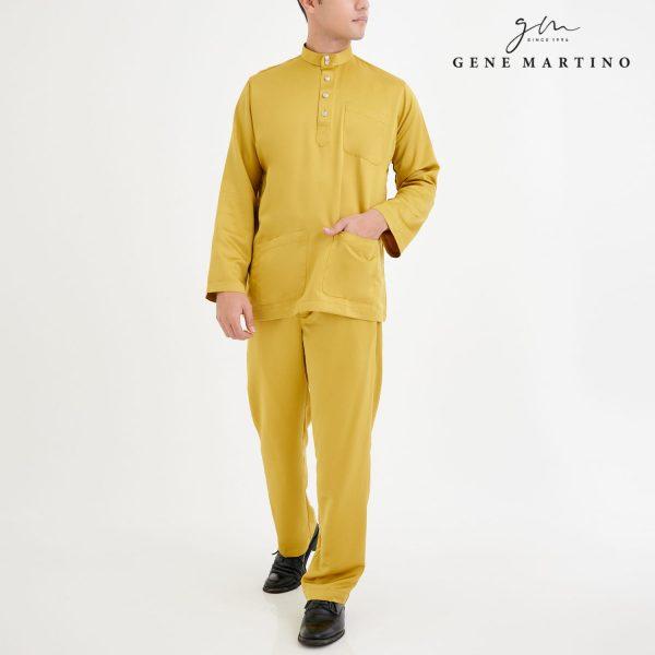 Baju Melayu Premium Dull Satin Classic Fit Tuscany