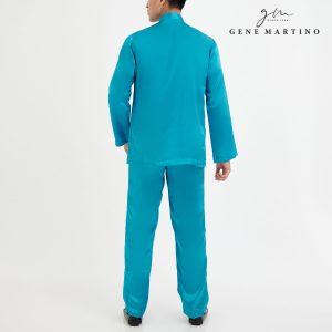 Baju Melayu Satin Classic Fit Turqoise