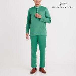 Gene Martino Iffat Baju Melayu Slim Fit MA1083FA 85 Sea Green