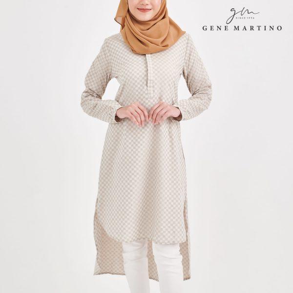 Ladies Muslimah Top 056 Light Cream