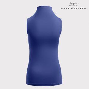 Sleeveless Innerwear (Turtle Neck) 002 Navy Blue