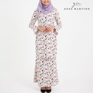 Amalia Kurung Modern Sempit 185 Light Cream