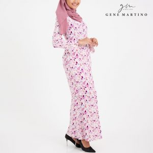 Amalia Kurung Modern Sempit 185 Light Pink
