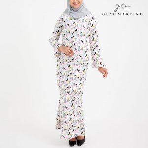 Amalia Kurung Modern Sempit 185 White