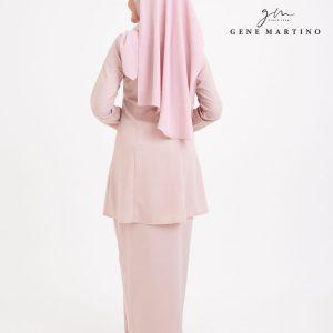 Seroja Kurung Kebaya 8054 Soft Pink