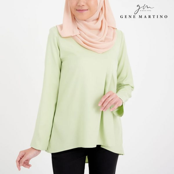 Leah Blouse 079 Light Green