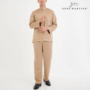 Baju Melayu Premium Dull Satin Classic Fit
