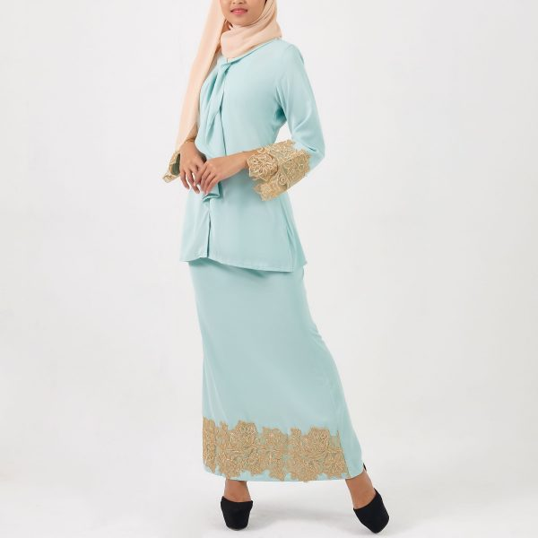Kurung Modern 8049 Mint Green