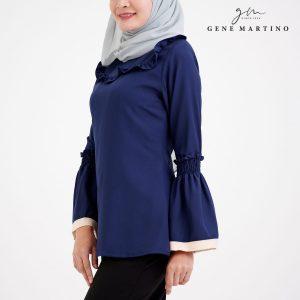 Muslimah Ladies Blouse 190 Blue