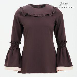 Muslimah Ladies Blouse 190 Dark Brown