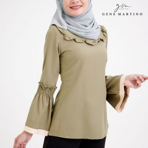 Muslimah Ladies Blouse 190 Dusty Green