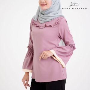 Muslimah Ladies Blouse 190 Dusty Purple