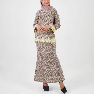 Kurung Modern 039 Dark Brown