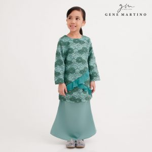 Gene Martion Mirzah Kurung Modern Sempit EA1066FA1 84 Dusty Green