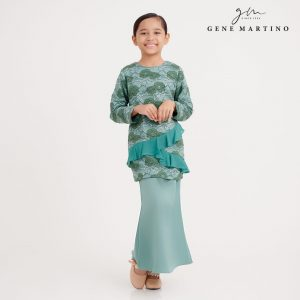 Gene Martion Mirzah Kurung Modern Sempit NA1066FA1 84 Dusty Green