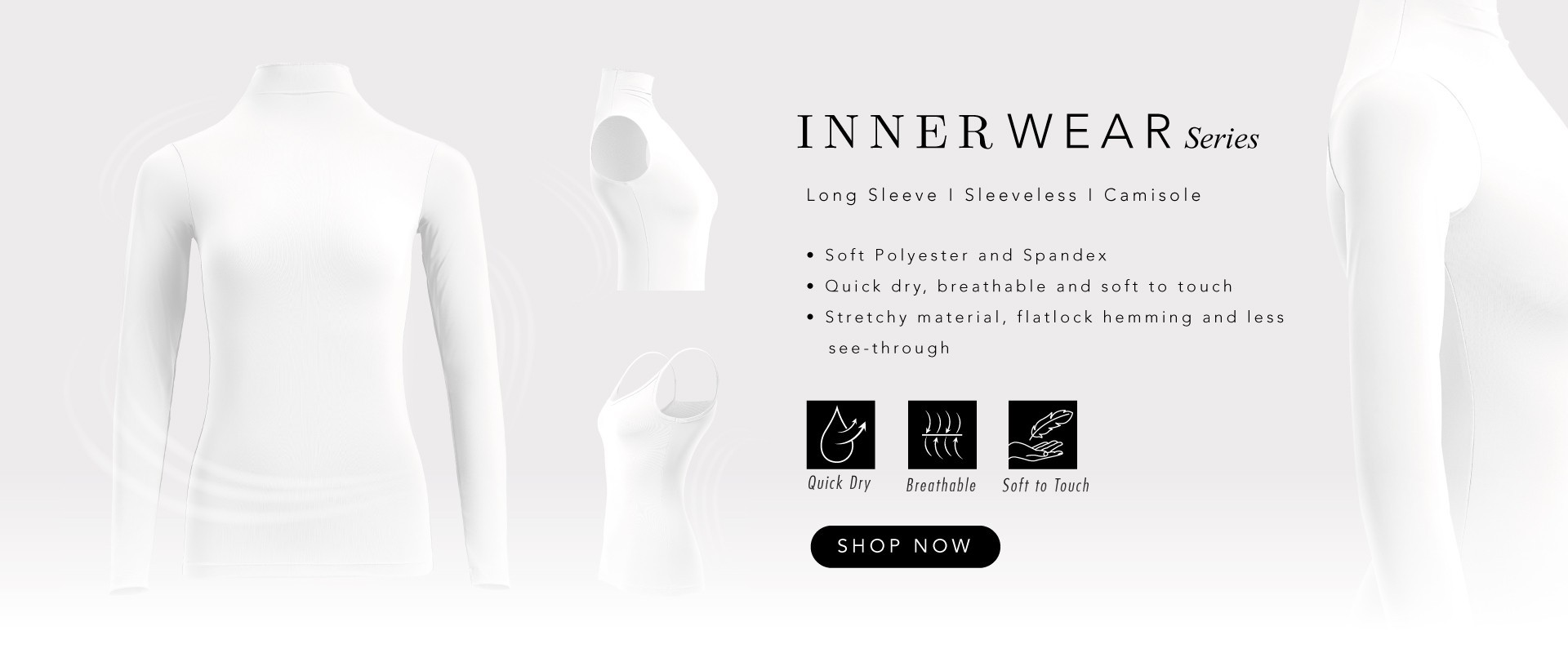 Inner Wear White Colour