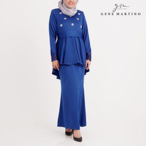 Dhalyna Kurung Modern GA1060FA 79 Royal Blue