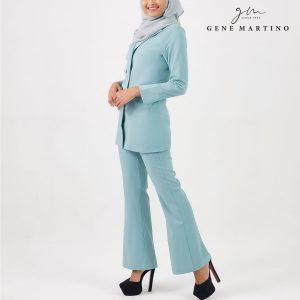 Gene Martino Clasrissa One Suits Blazer BLA545PS 82 Pastel Mint Green