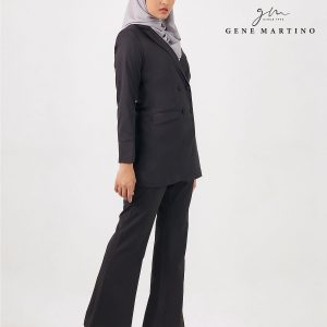 Gene Martino Clasrissa One Suits Blazer BLA545PS 99 Black