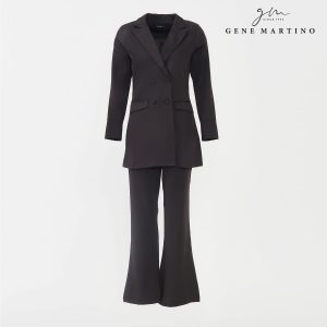 Gene Martino Clasrissa One Suits Blazer BLA545PS 99 BlackGene Martino Clasrissa One Suits Blazer BLA545PS 99 Black
