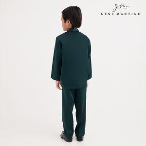 Gene Martino Dhani Baju Melayu Slim Fit UA1060FA 89 Dark Green