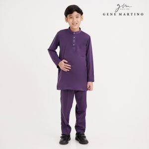 Gene Martino Firz Kurta Slim Fit KJA1063FA 68 Purple