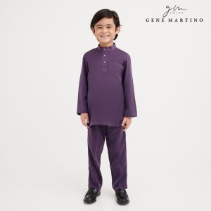 Gene Martino Firz Kurta Slim Fit KKA1063FA 68 Purple