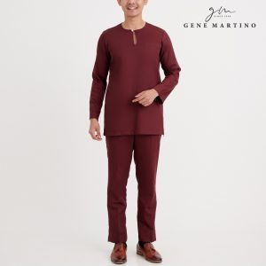 Gene Martino Isac Kurta Slim Fit KAA1075FA 47 Brown