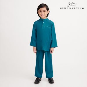 Gene Martino Nadir Baju Melayu Traditional UA950FA 88 Emerald Green