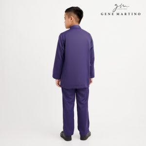 Gene Martino Nadir Baju Melayu Traditional XA950FA 78 Purple