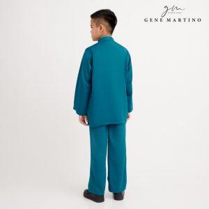 Gene Martino Nadir Baju Melayu Traditional XA950FA 88 Emerald Green
