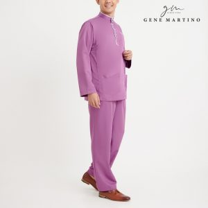 Gene Martino Khair Baju Melayu Traditional MA1009FA 65 Purple