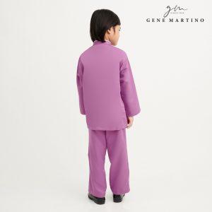 Gene Martino Khair Baju Melayu Traditional UA1009FA 65 Purple