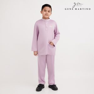 Gene Martino Omar Baju Melayu Modern Fit XA1086FA 63 Light Purple