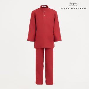 Gene Martino Syaqir Baju Melayu Modern UA1027FA 59 Maroon