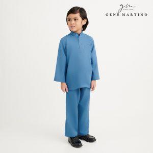 Gene Martino Syaqir Baju Melayu Modern UA1027FA 77 Teal Green