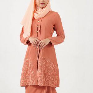 Gene Martion Lyla Kurung Kebaya RA8045SU 18 45 Burnt Orange