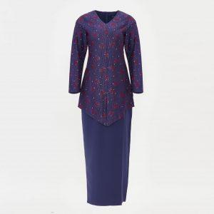 Gene Martion Qisya Kurung Kebaya RA544SU 78 Violet Blue
