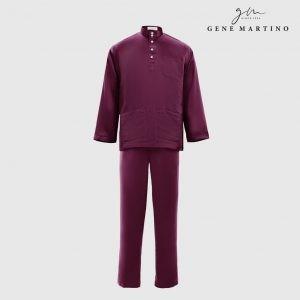 Baju Melayu Premium Dull satin Classic Fit Electric Blue