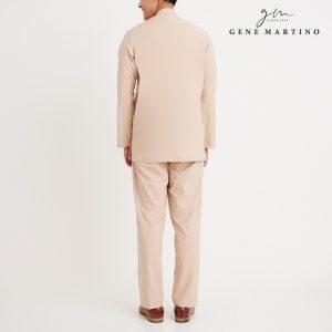 Gene Martino Athiq Baju Melayu Modern Fit MA1098FA 15 Beige