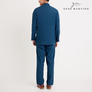 Gene Martino Athiq Baju Melayu Modern Fit MA1098FA 89 Dark Teal
